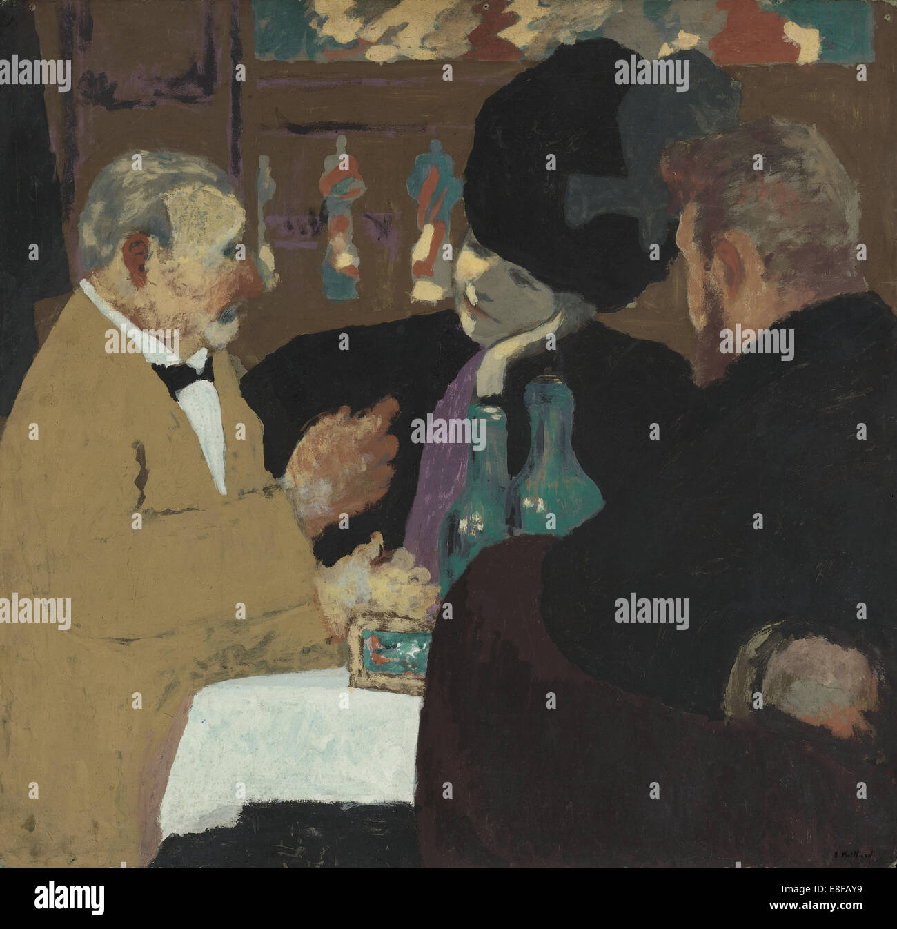 A Pleasure. Artist: Vuillard, Édouard (1868-1940) - Stock Image