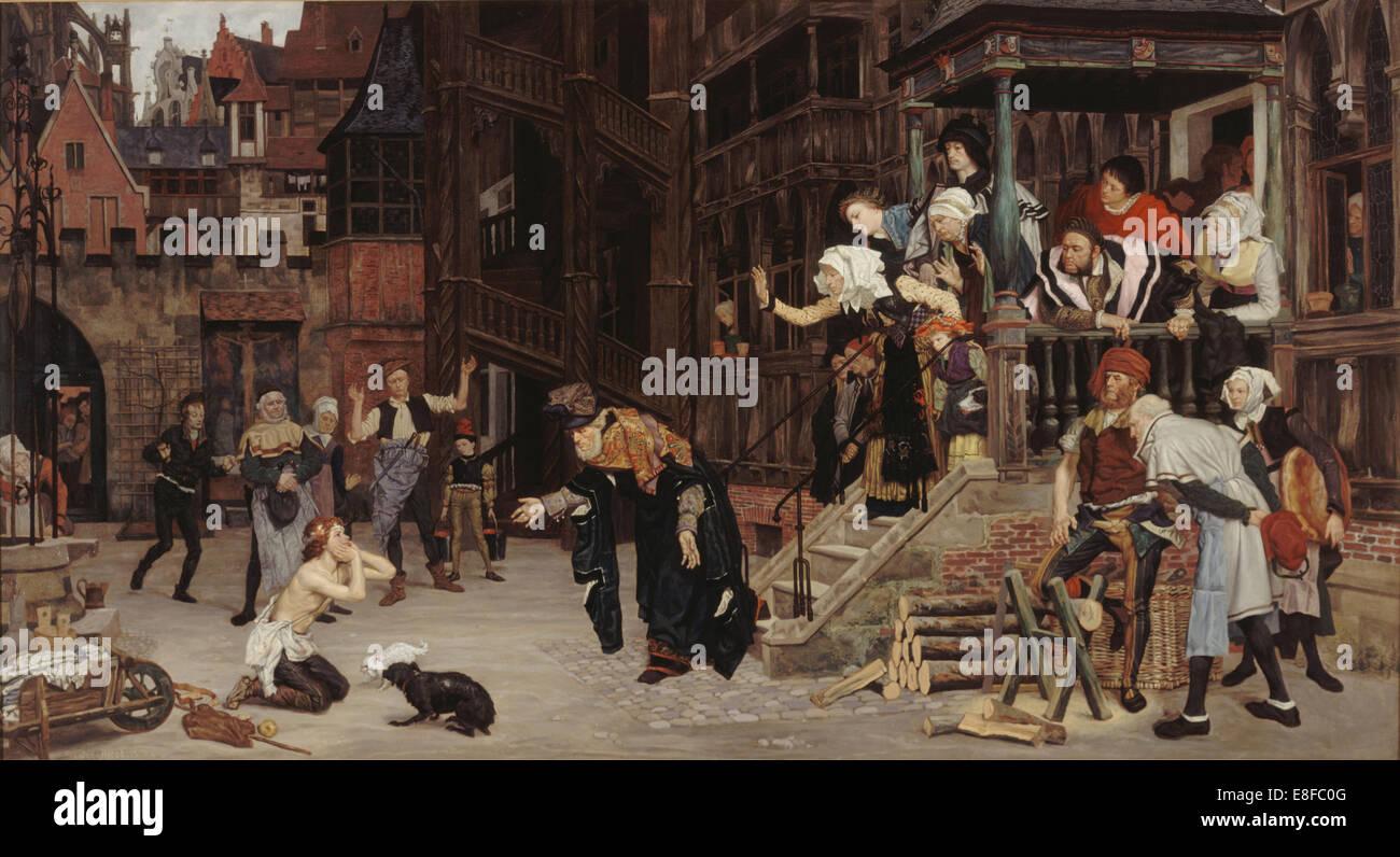 Return of the Prodigal Son. Artist: Tissot, James Jacques Joseph (1836-1902) - Stock Image