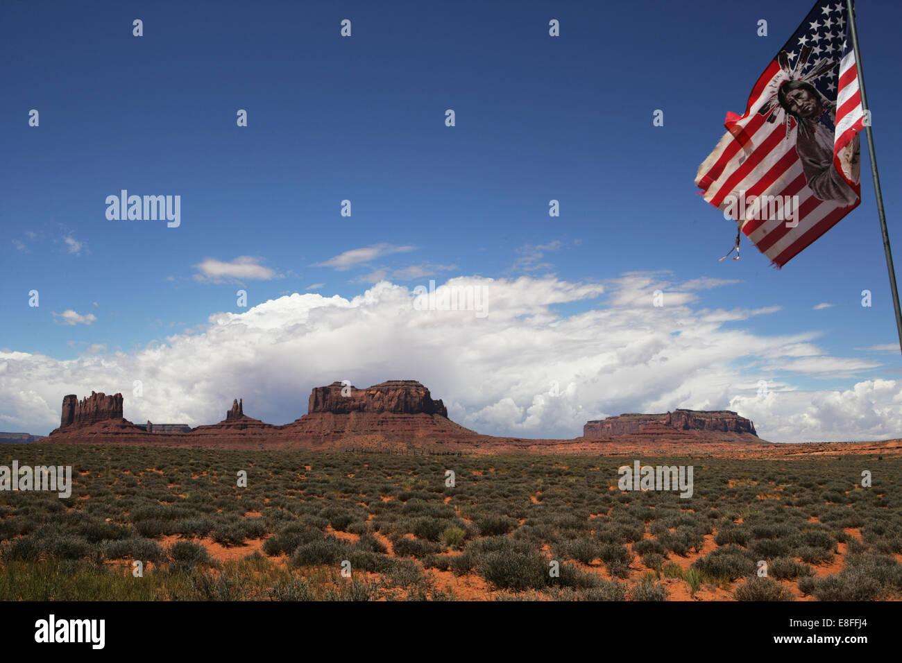 USA, Arizona, Monument Valley Navajo Tribal Park - Stock Image