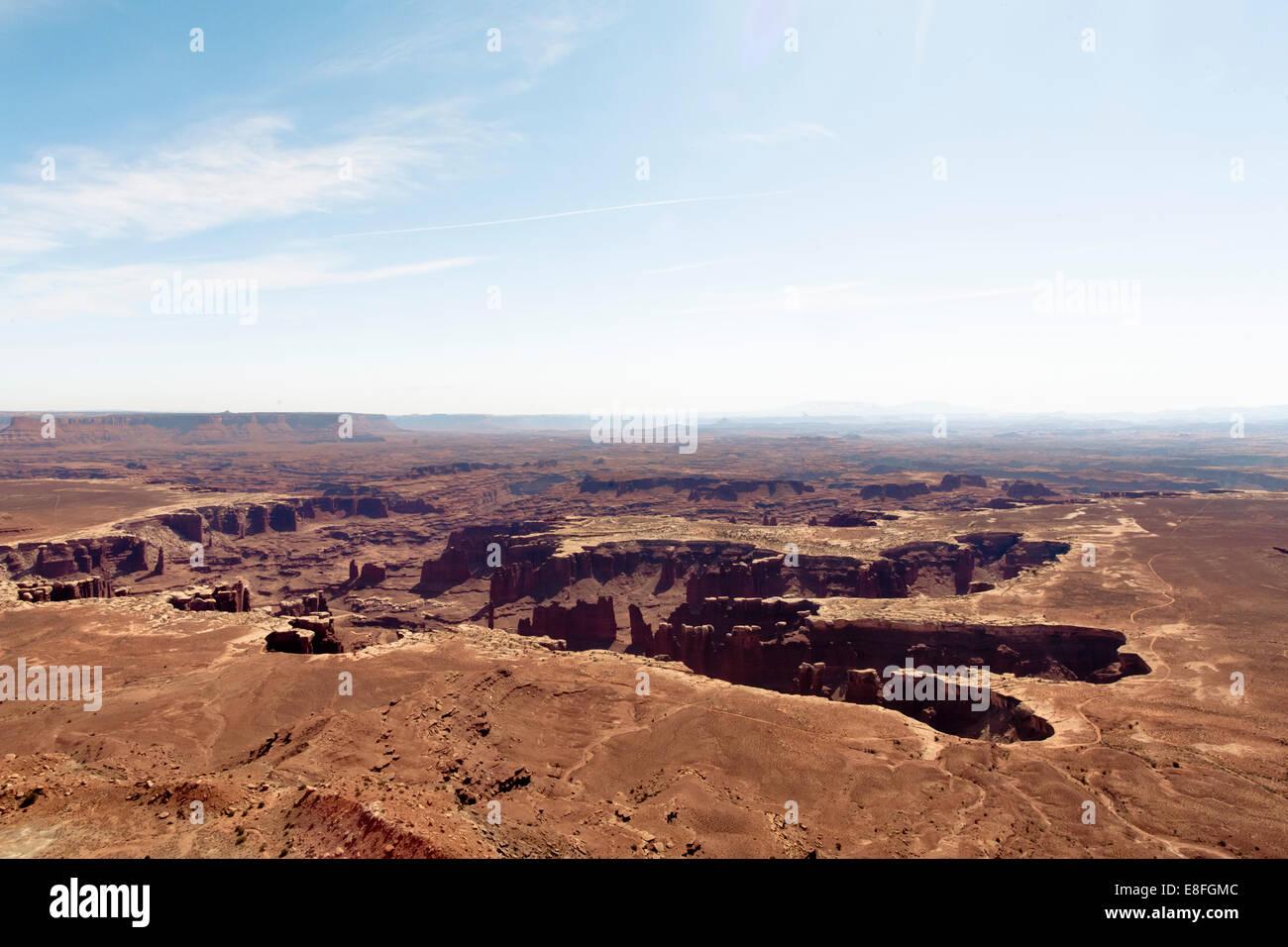 USA, Utah, Salt Lake County, View of Canyonland Circle - Stock Image