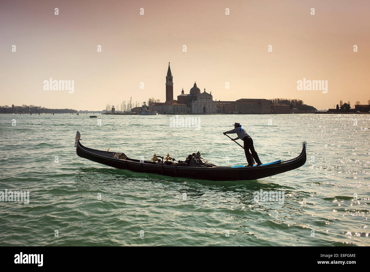 f2d3e29f680 Gondolier Venice Hat Stock Photos   Gondolier Venice Hat Stock ...