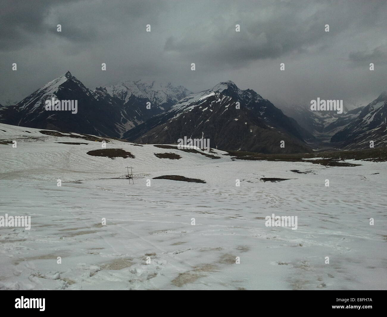 Mountain landscape, Manali, Himachal Pradesh, India - Stock Image