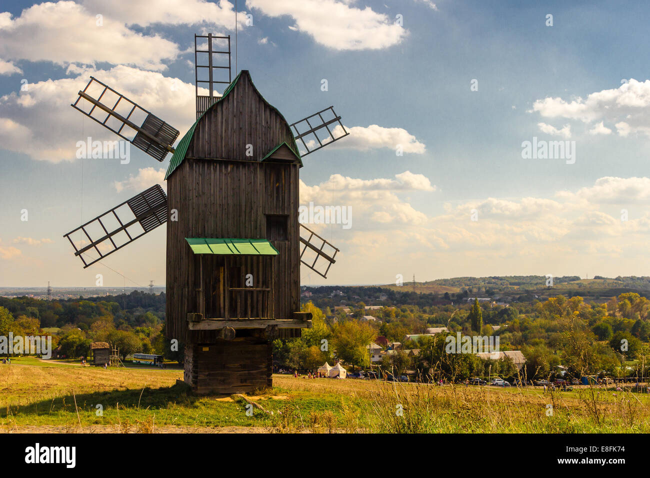 Ukraine, Kyiv, Windmill - Stock Image