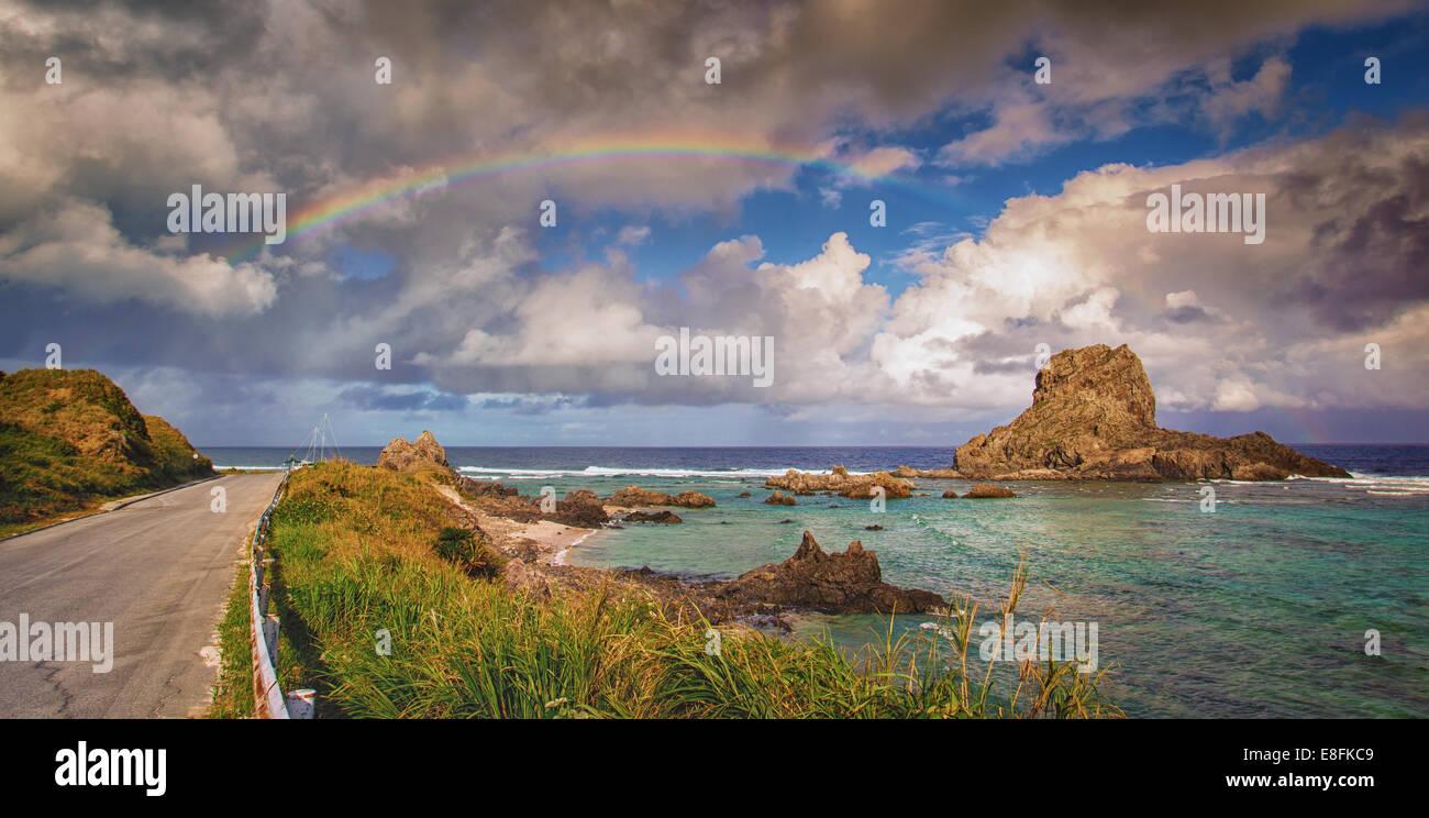 Panoramic seascape - Stock Image