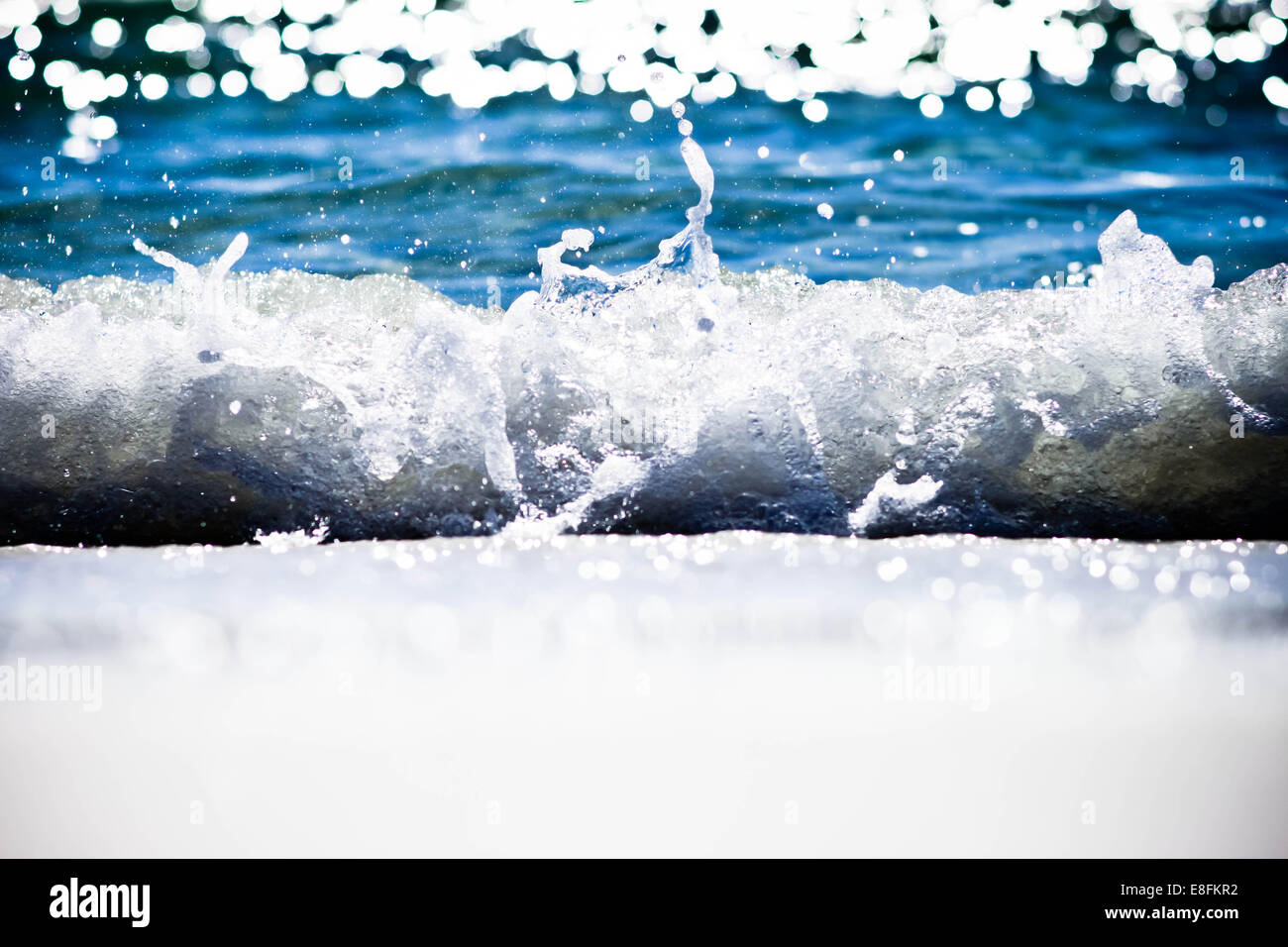 Destin, Florida, United States of America Splash - Stock Image