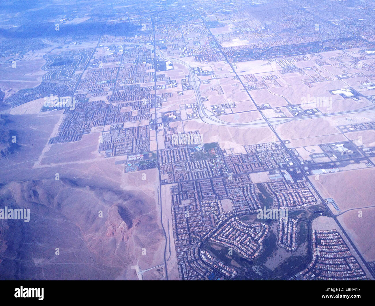 Las Vegas, Nevada, United States of America Great Las Vegas From Above - Stock Image