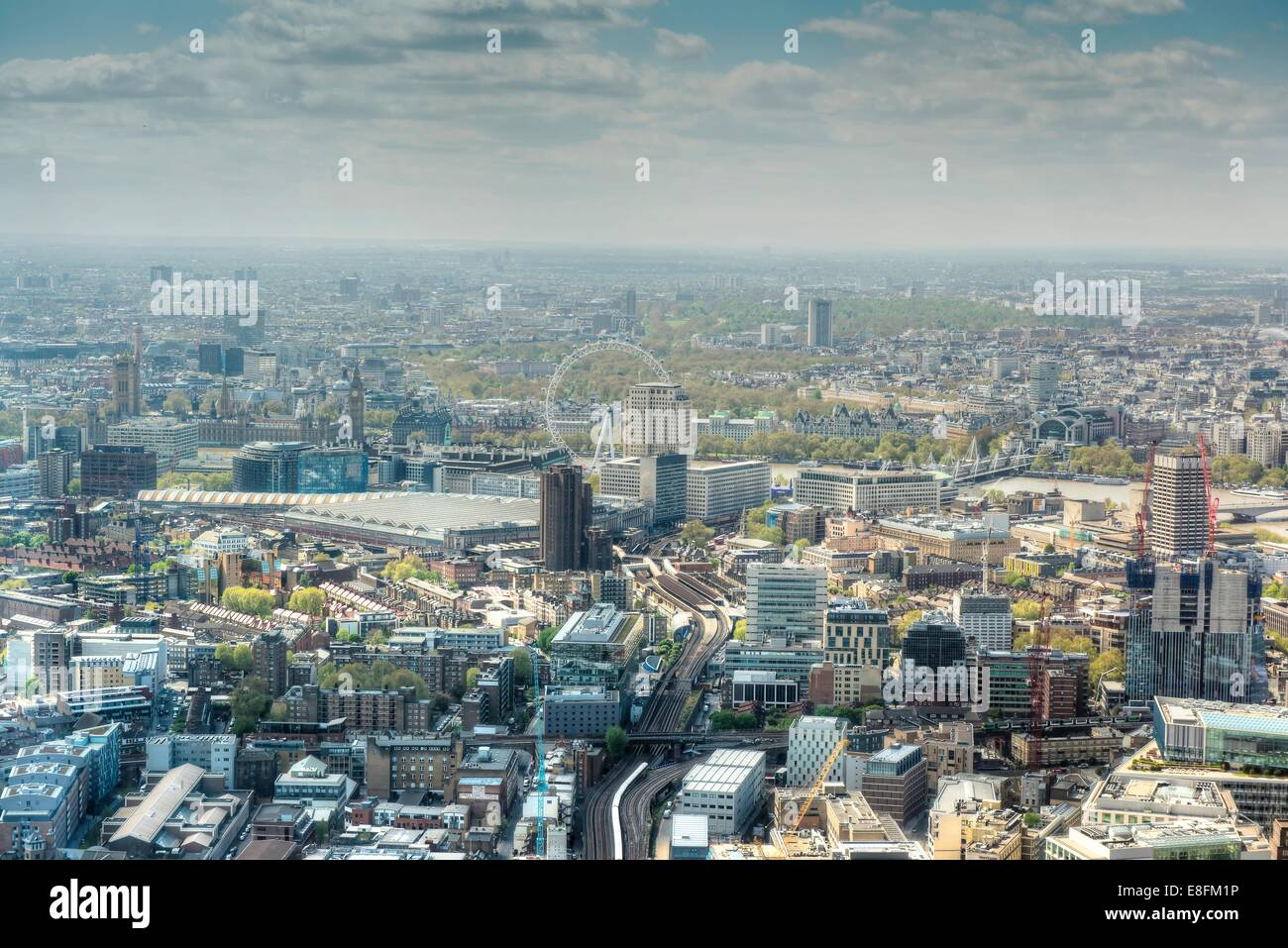 United Kingdom, England, London, Cityscape - Stock Image