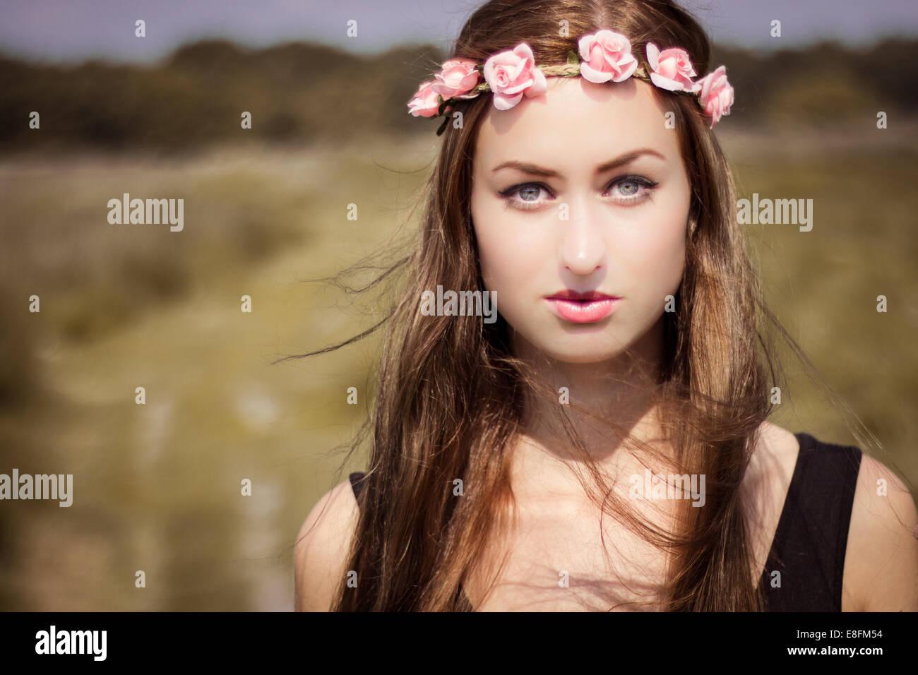 Holland, Netherlands Lovely Sunny Portrait - Stock Image