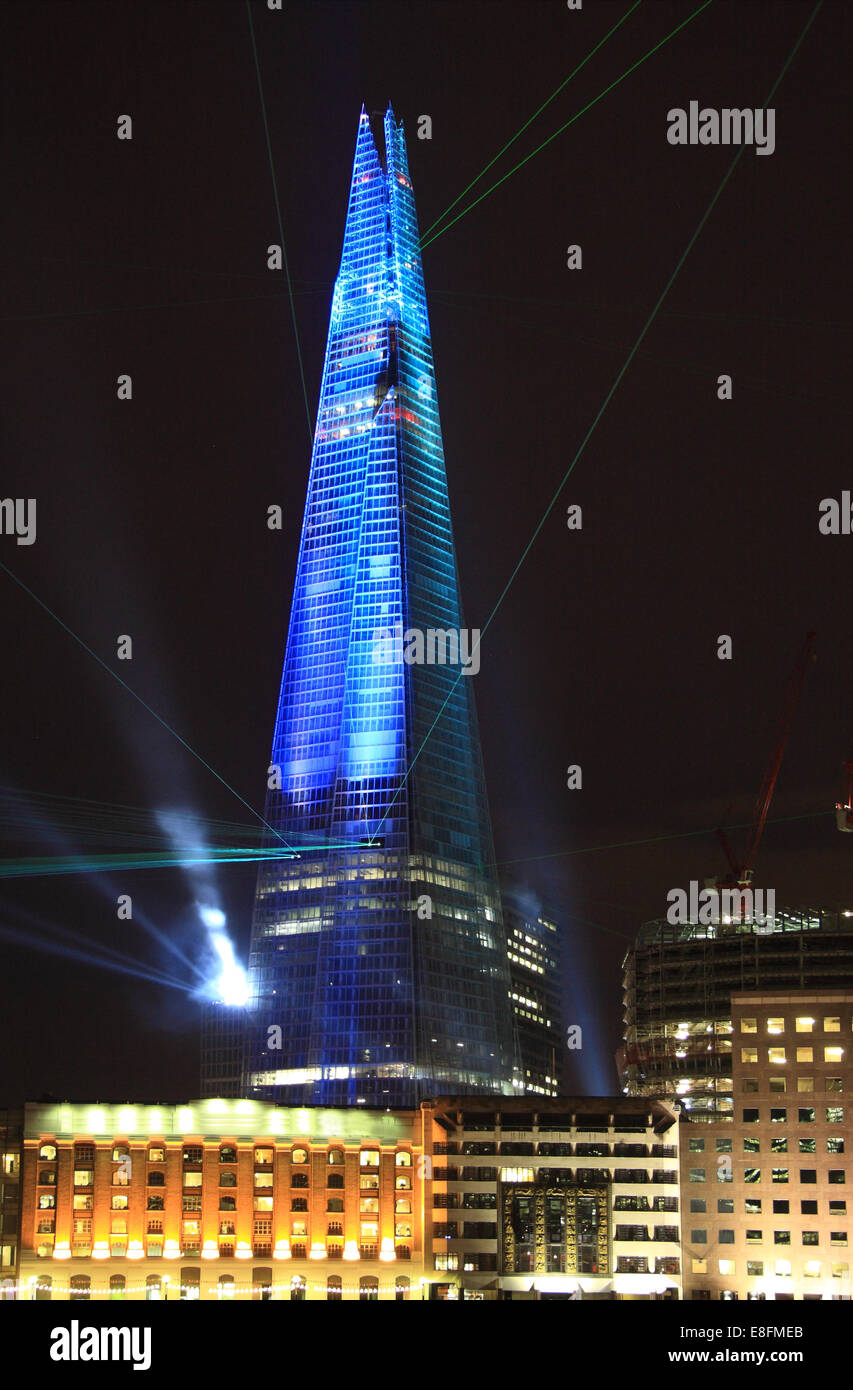 United Kingdom, England, London, Shard of Glass - Stock Image