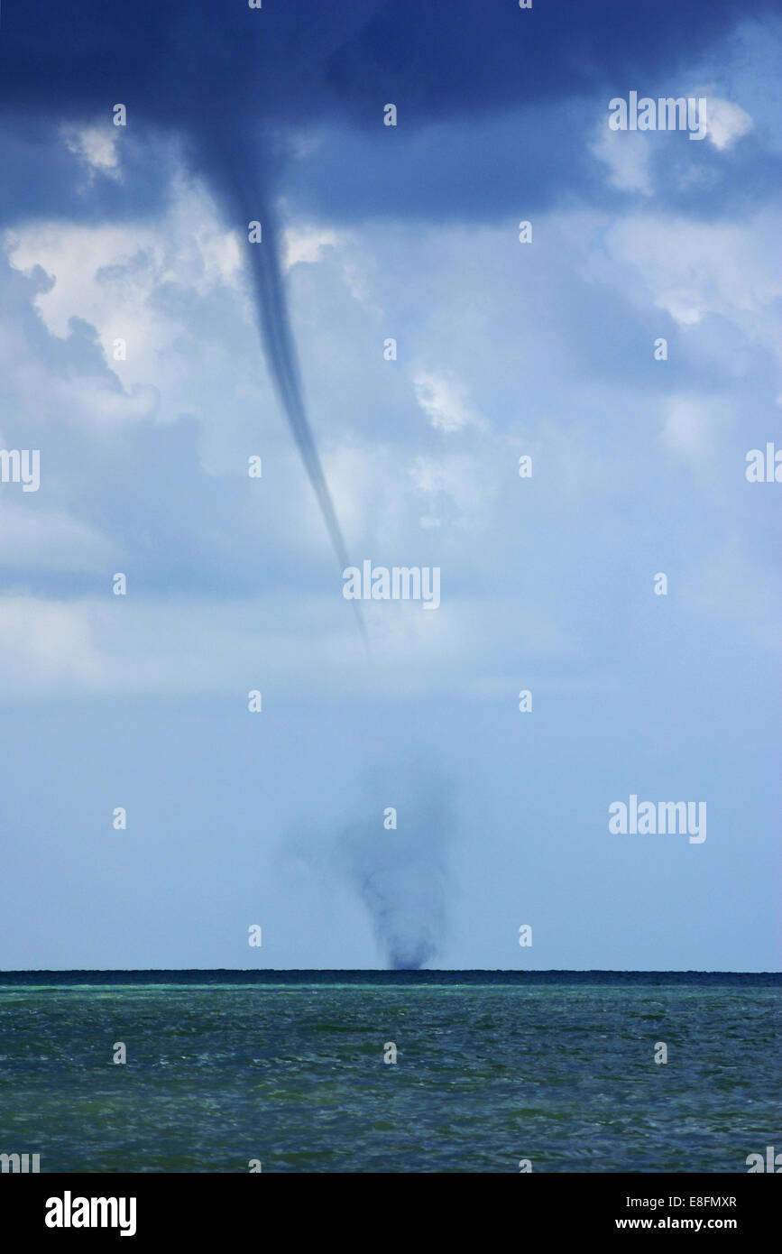 Water spout - Stock Image