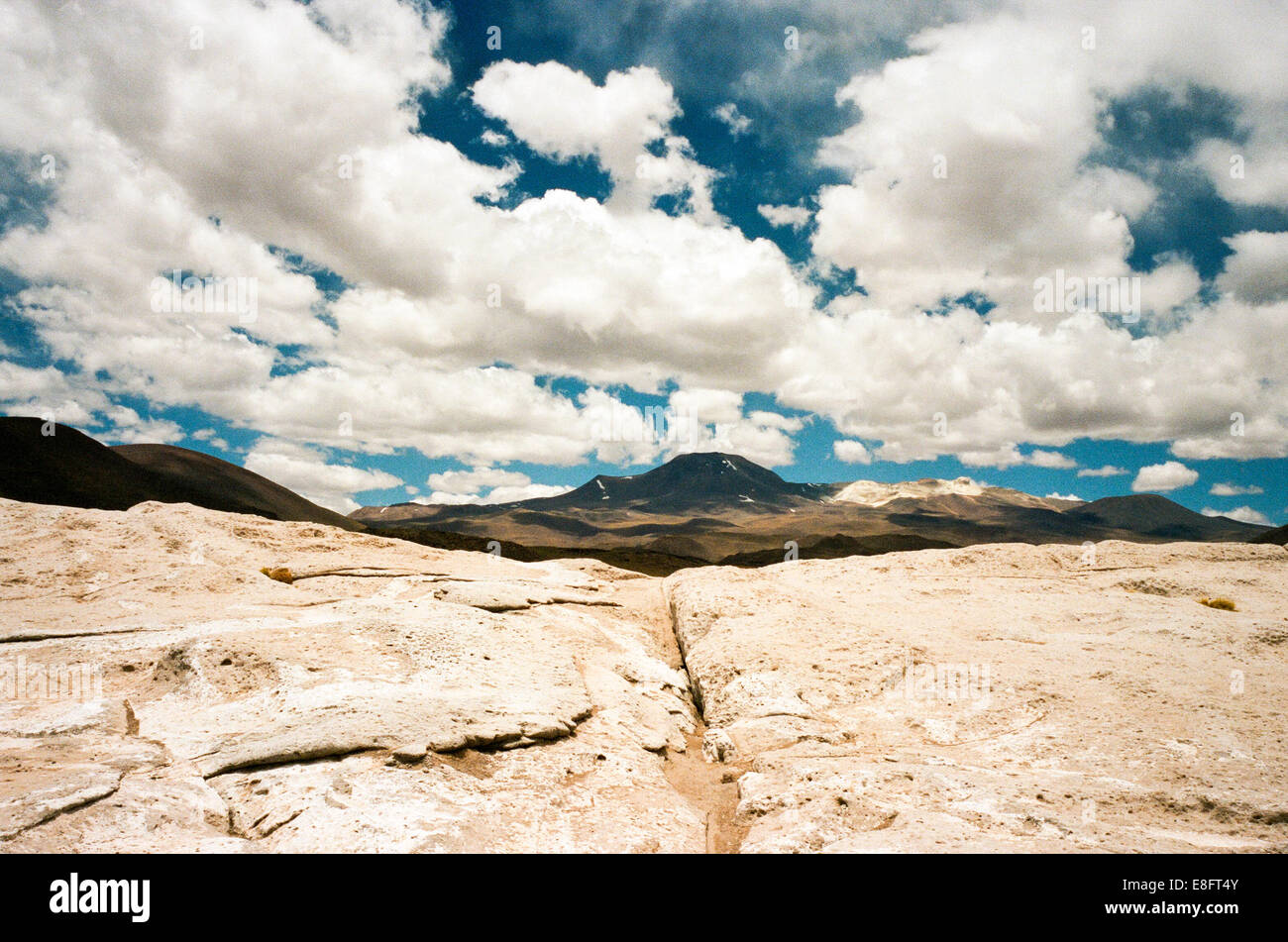 Chile, San Pedro de Atacam, Picture of mountain - Stock Image