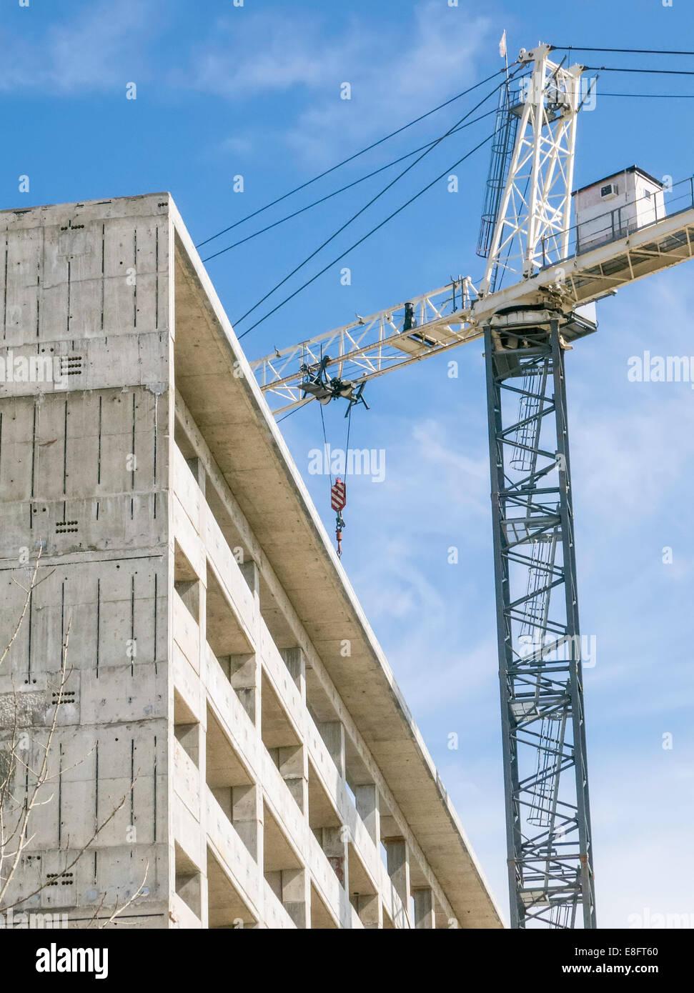 USA, Illinois, Construction site - Stock Image