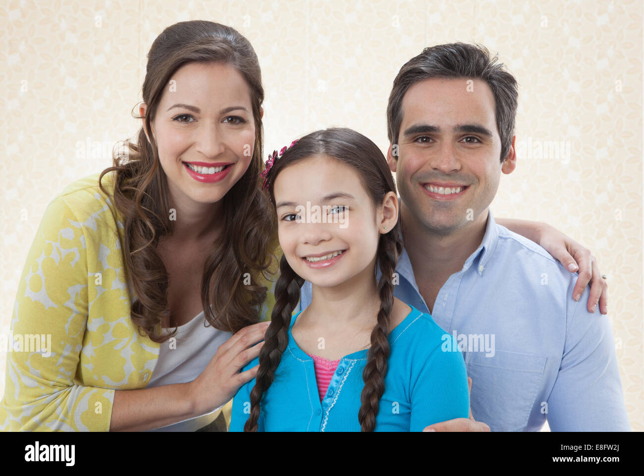 View of Family portrait - Stock Image