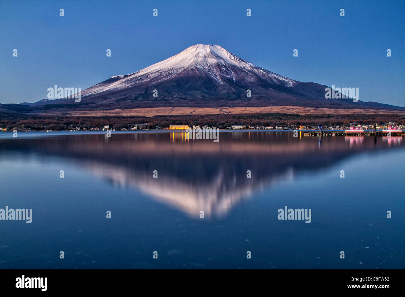 Japan, View of Mt Fuji - Stock Image
