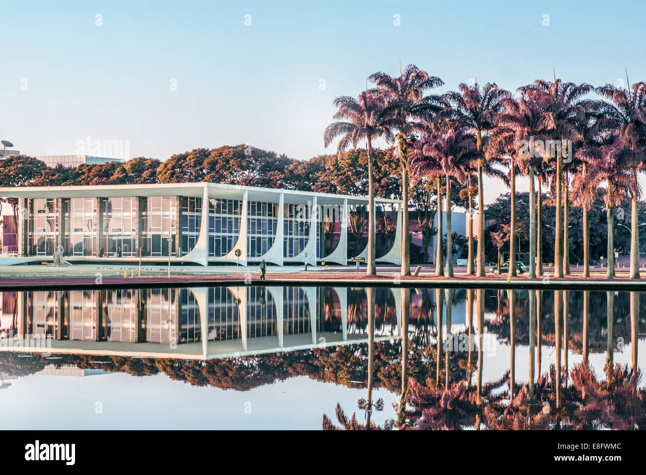 Brazil, Brasilia, Superior Tribunal Federal - Stock Image