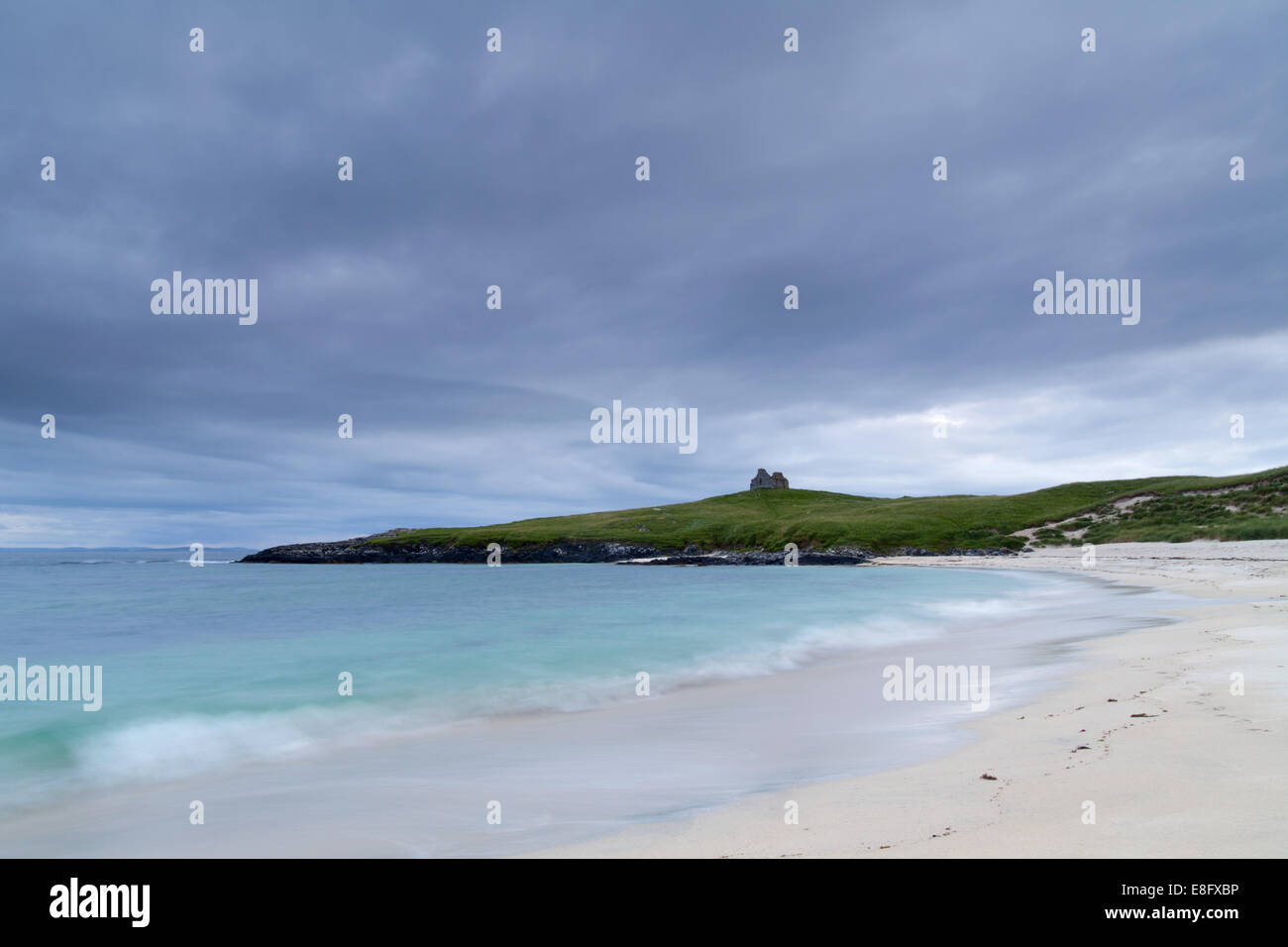 Toe Head Chapel, Isle of Harris, Outer Hebrides, Scotland - Stock Image