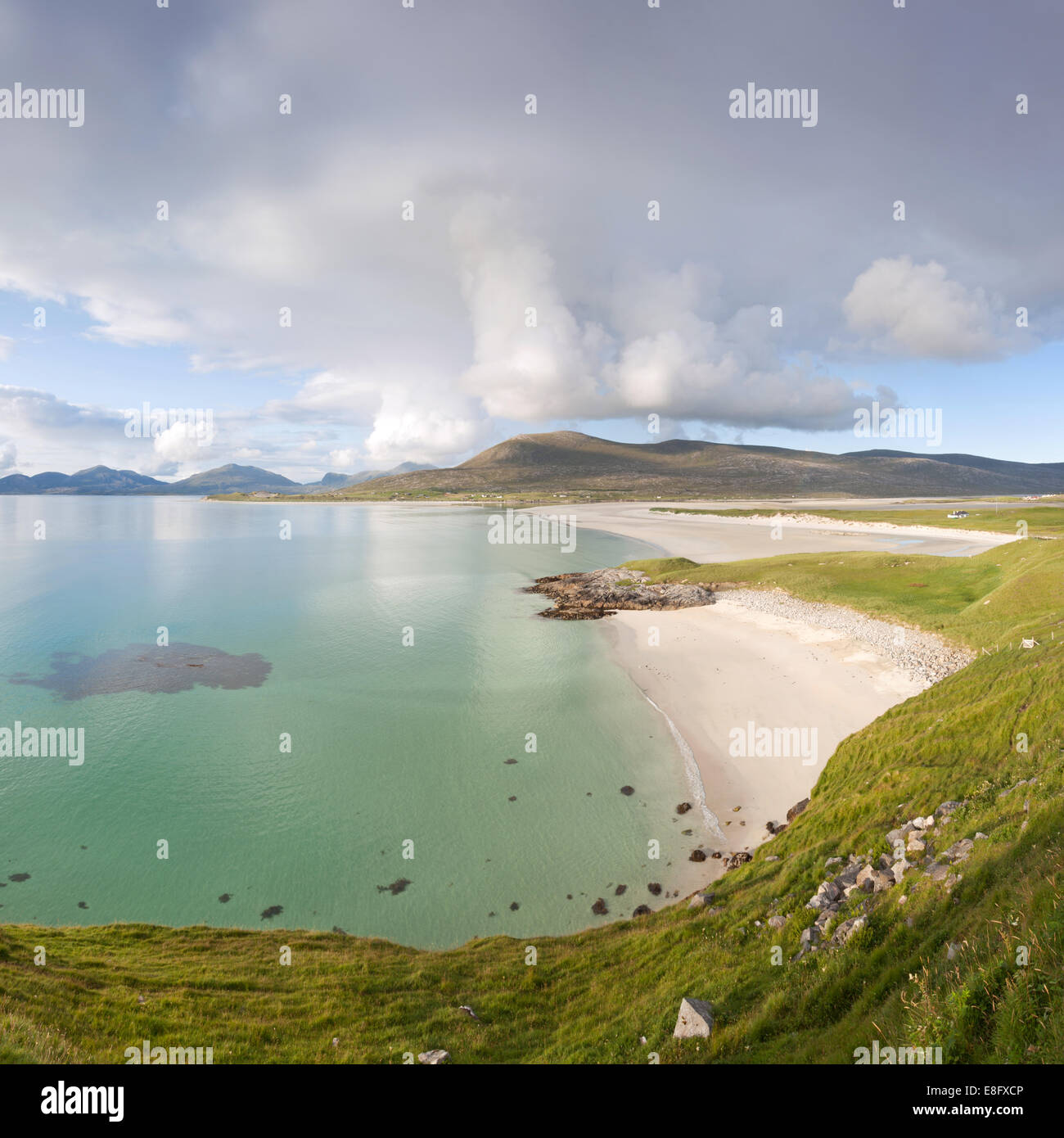 Seilebost beach, Isle of Harris, Scotland - Stock Image