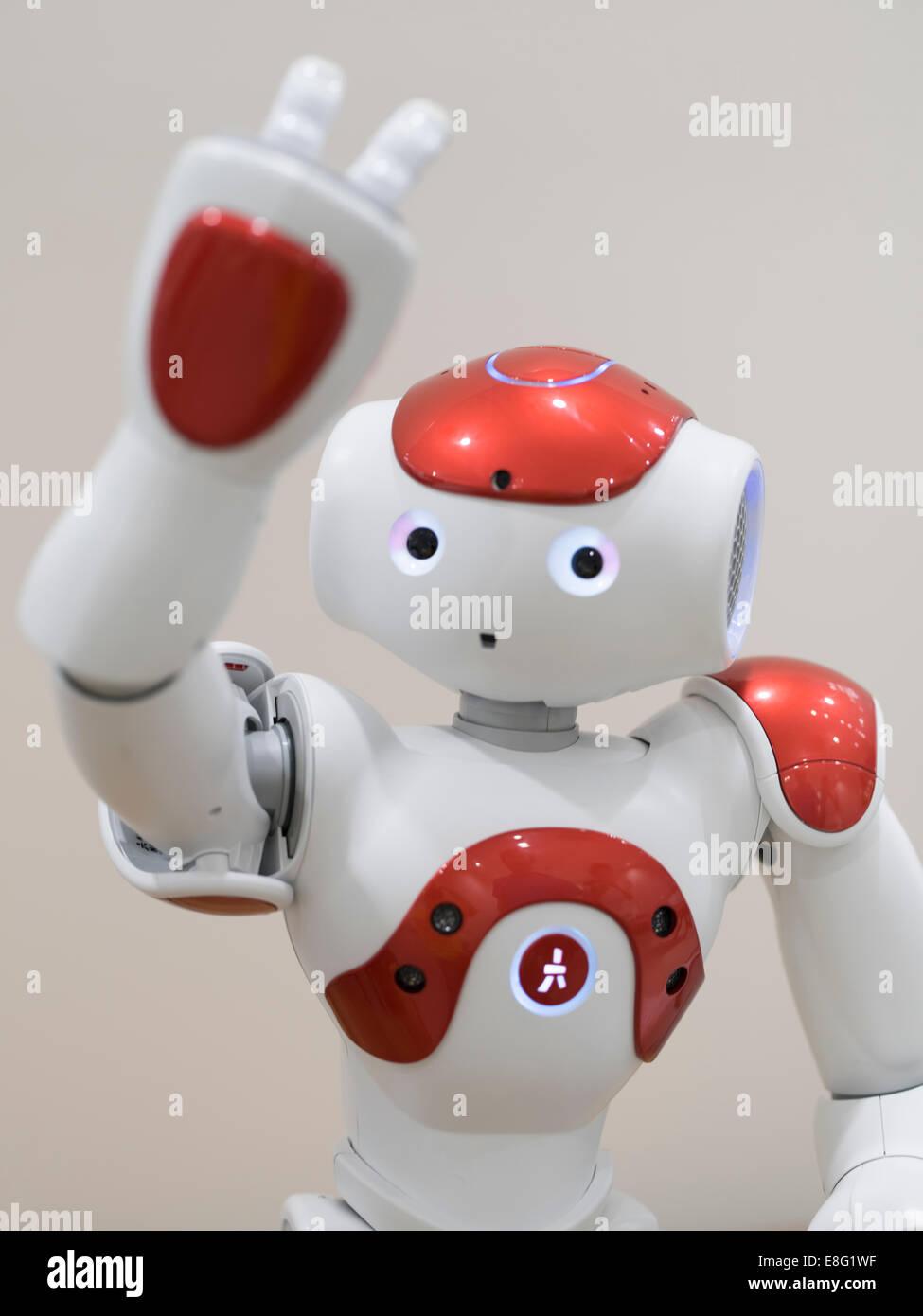 Aldebaran Nao Robot Stock Photos & Aldebaran Nao Robot Stock