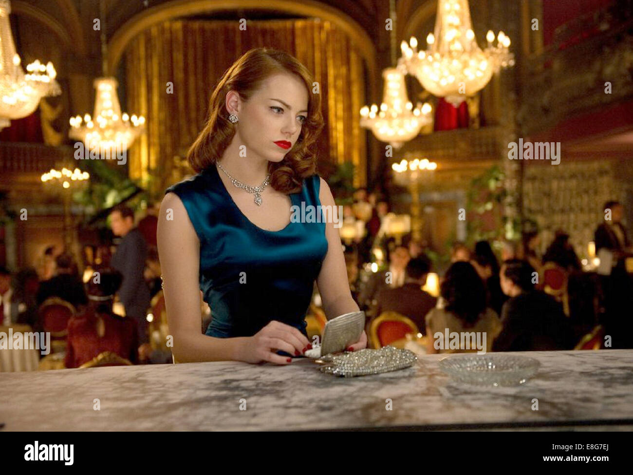 GANGSTER SQUAD 2013 Warner Bros film with Emma Stone - Stock Image