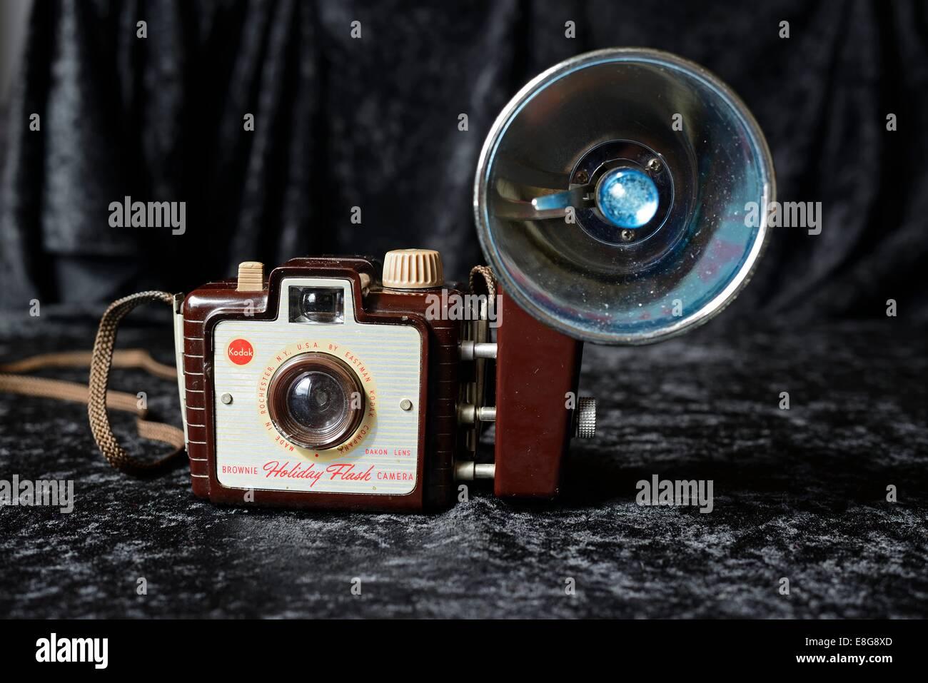 Kodak Brownie Holiday Flash camera - Stock Image