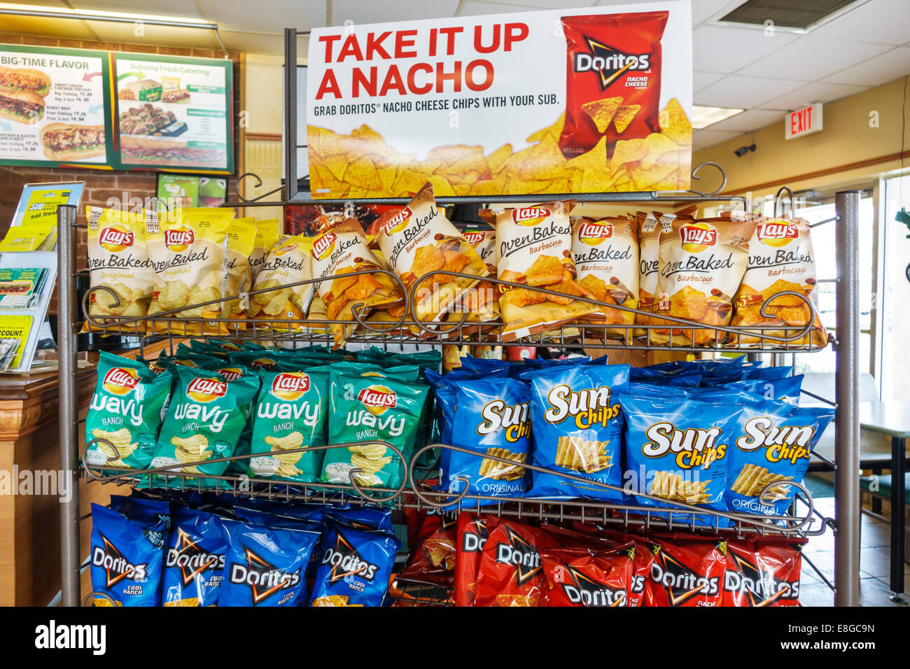 Bags Of Chips Stock Photos Bags Of Chips Stock Images Alamy