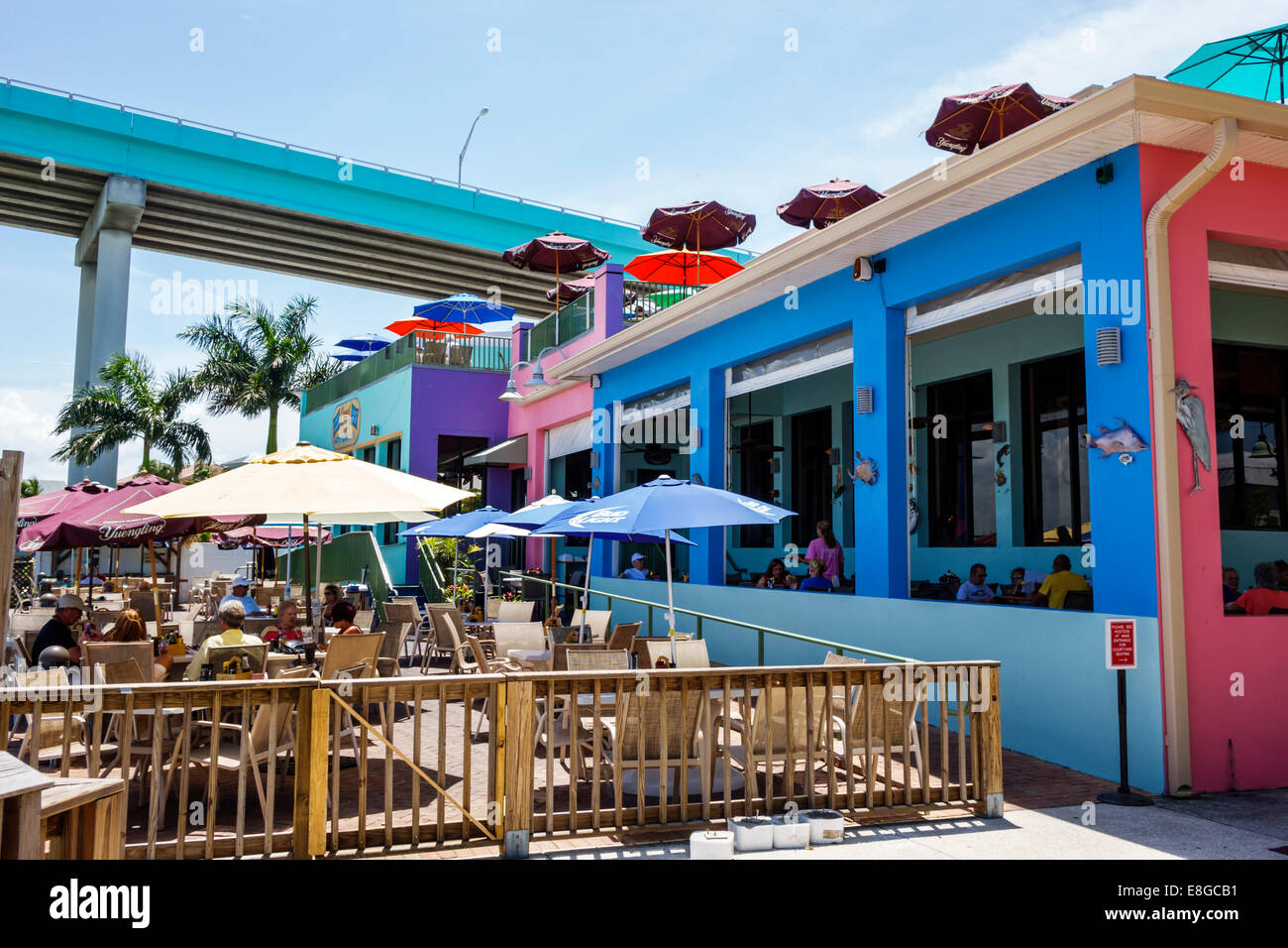 Fort Myers Florida Ft Beach Nervous Nellies Restaurant Outside