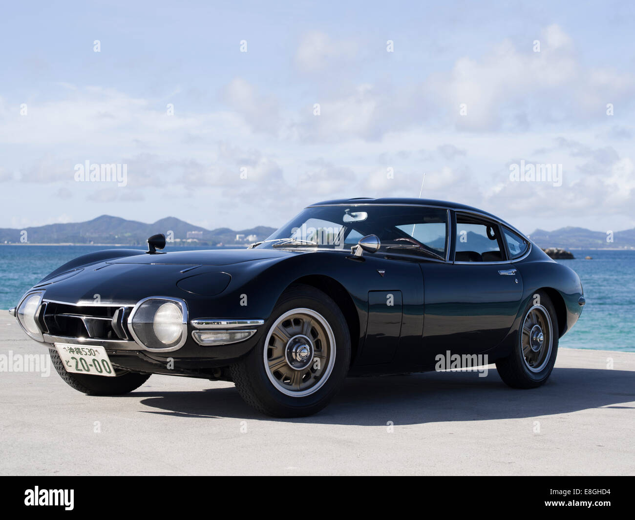 Lhd Toyota 2000gt Japanese Sports Car In Okinawa Japan Stock Photo