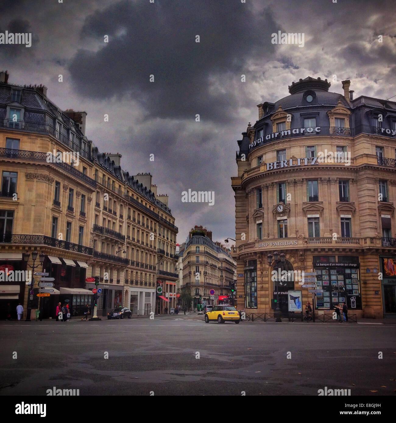 Street scene - Stock Image