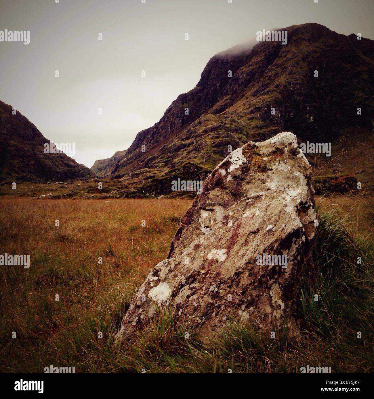 Ireland, Munster, County Kerry, Killarney, Gap of Dunloe Stock Photo