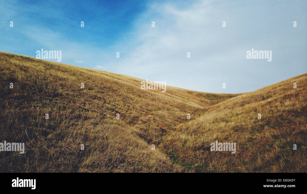 Hills of Mount Diablo - Stock Image