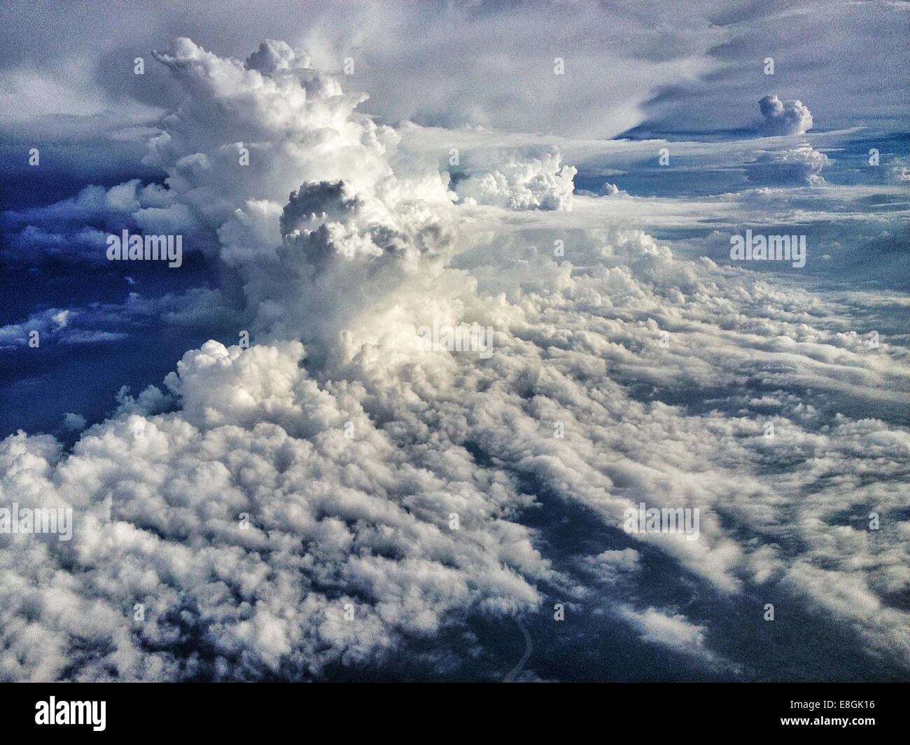 Indonesia, Bali, Cloudscape - Stock Image
