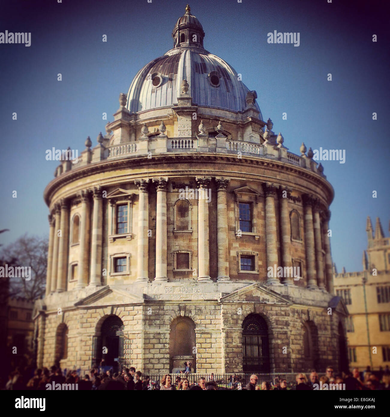 Oxford, UK The Radcliffe Camera In Oxford - Stock Image