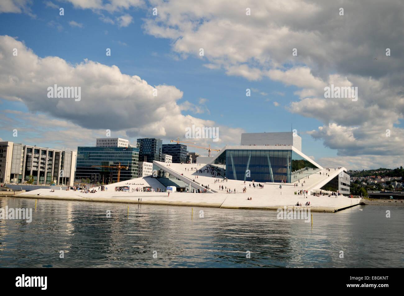 Oslo, Norway Oslo Opera House - Stock Image