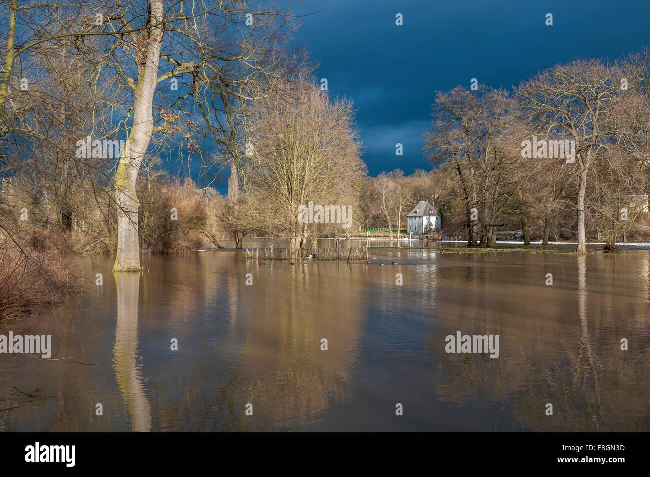 Flooded Garden Stock Photos & Flooded Garden Stock Images - Alamy