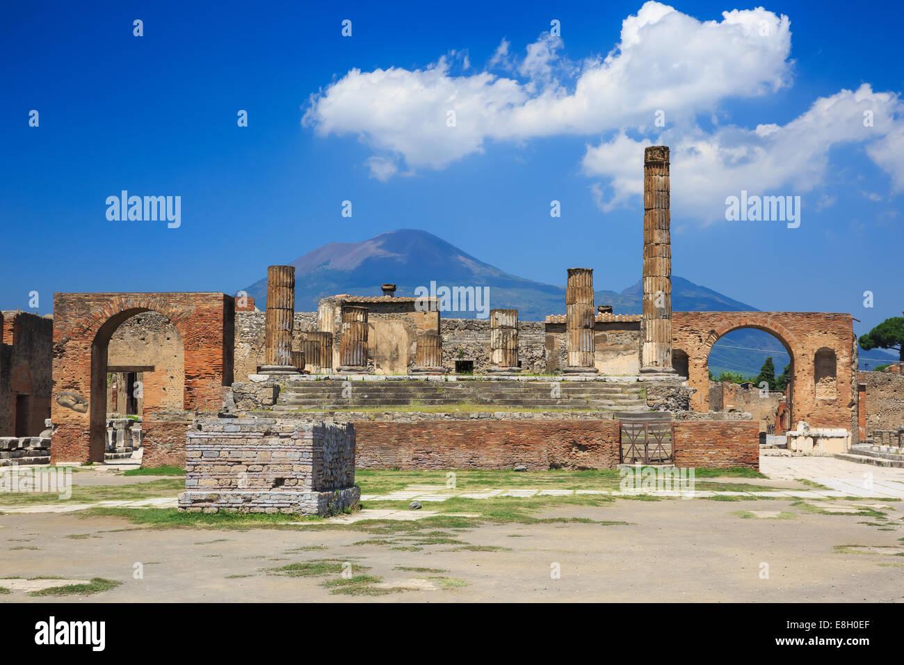 Pompeii, Italy - Stock Image