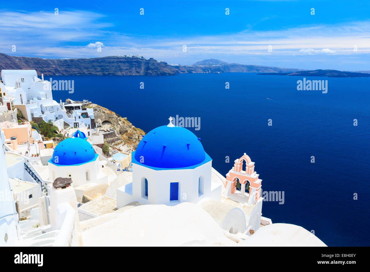 Santorini, Greece - Stock Image