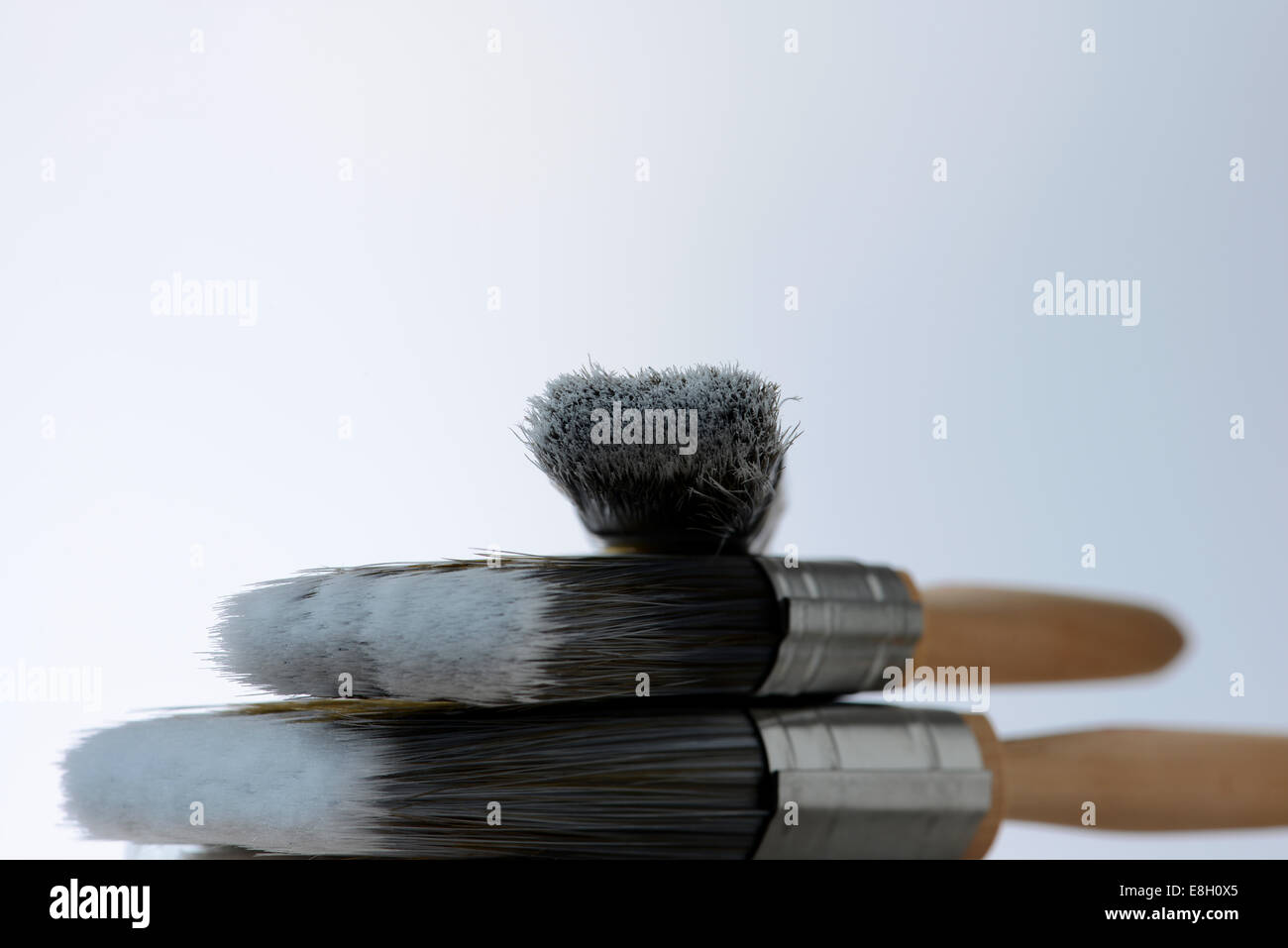 Paint brushes - Stock Image