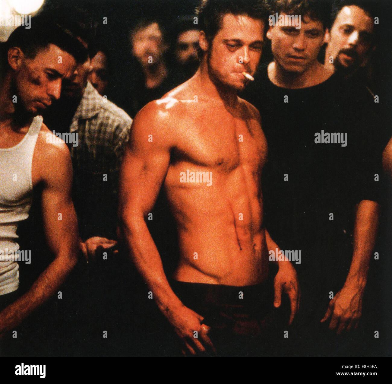 FIGHT CLUB 1999 20th Century Fox film with Brad Pitt - Stock Image
