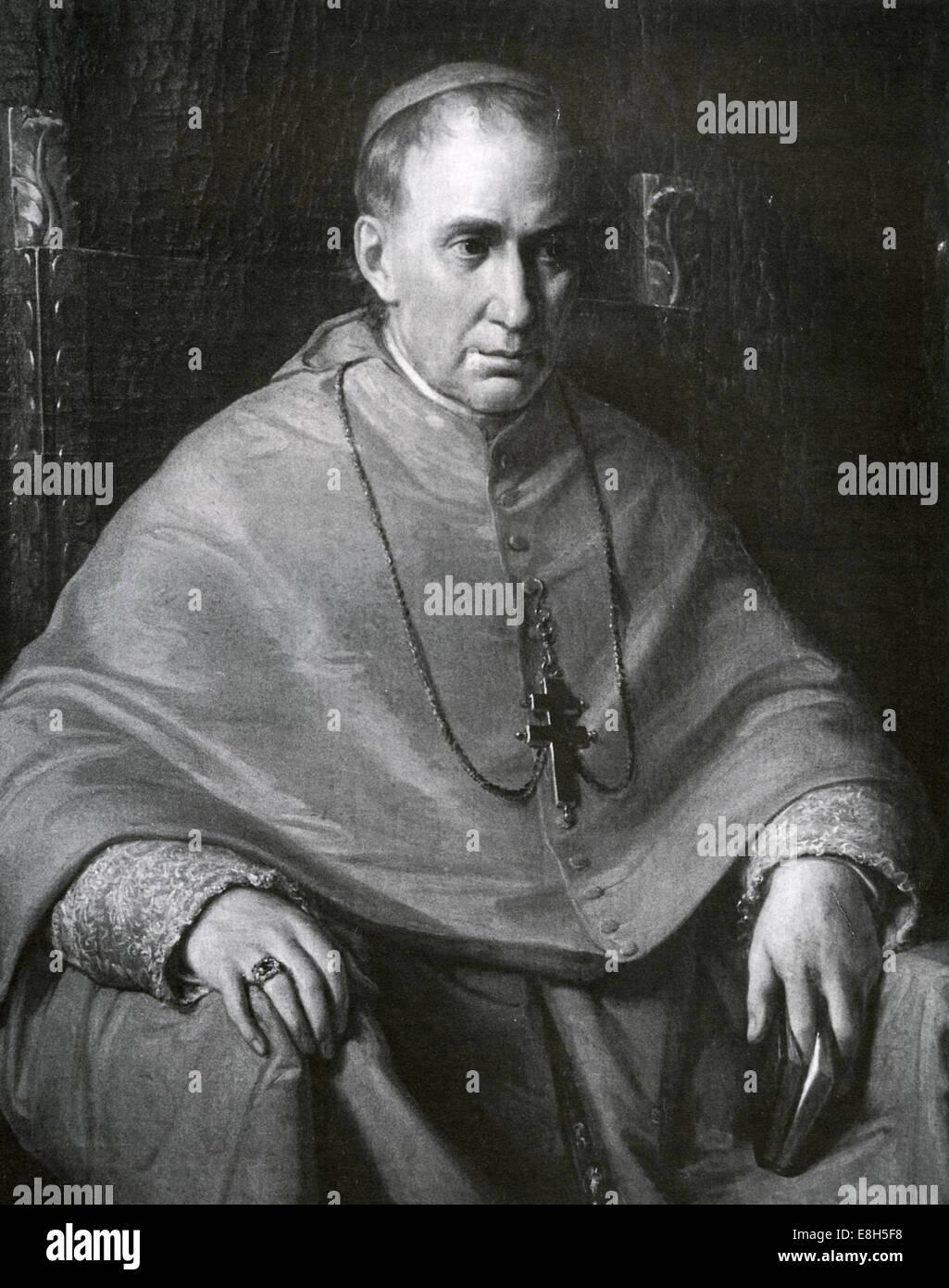 PAUL CULLEN (1803-1878) Cardinal Archbishop of Dublin - Stock Image