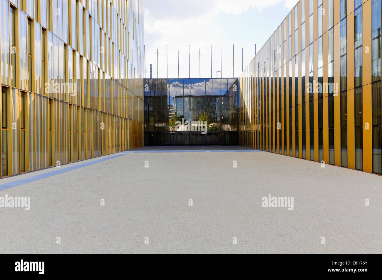 Luxembourg, Luxembourg City, view to  European Court of Justice - Stock Image
