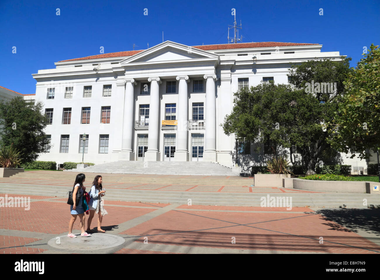 University of California, Berkeley, San Francisco, California, USA - Stock Image