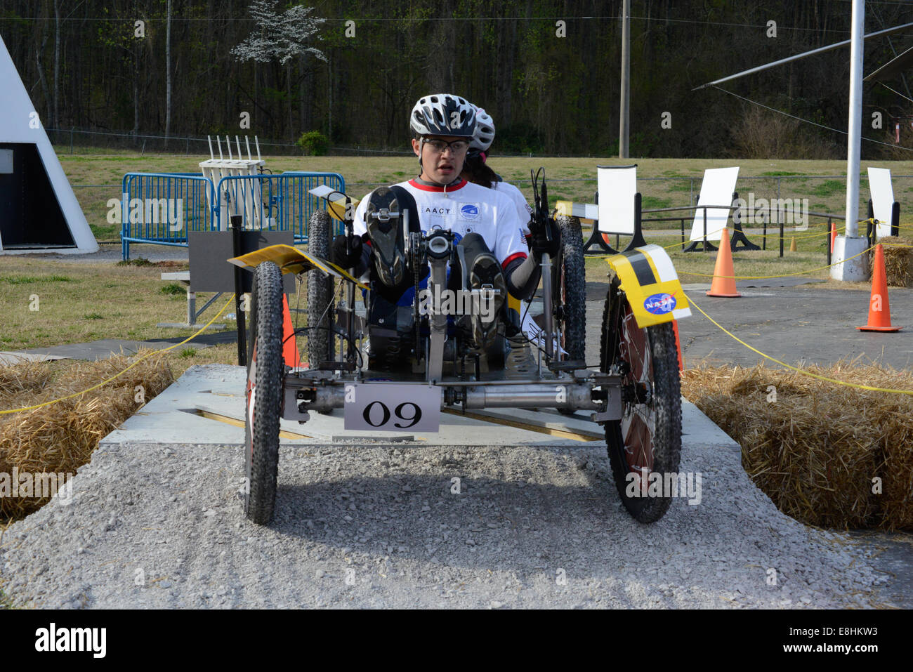 Academy of Arts Careers & Technology Marshall Space Flight Center NASA NASA Human Exploration Rover Challenge - Stock Image