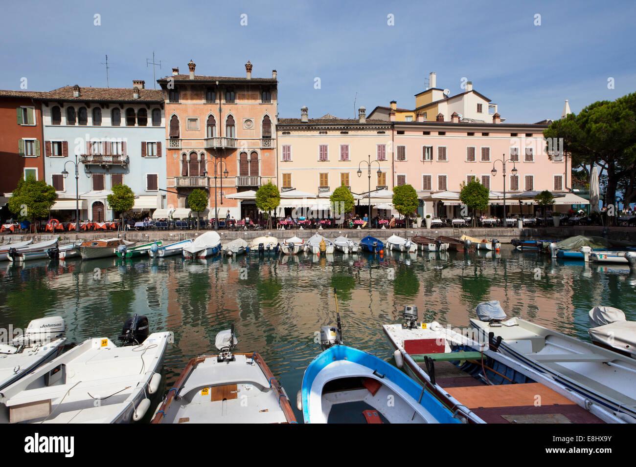 Desenzano del Garda is a town and comune in the province of Brescia, in Lombardy, Italy, on the southwestern shore Stock Photo