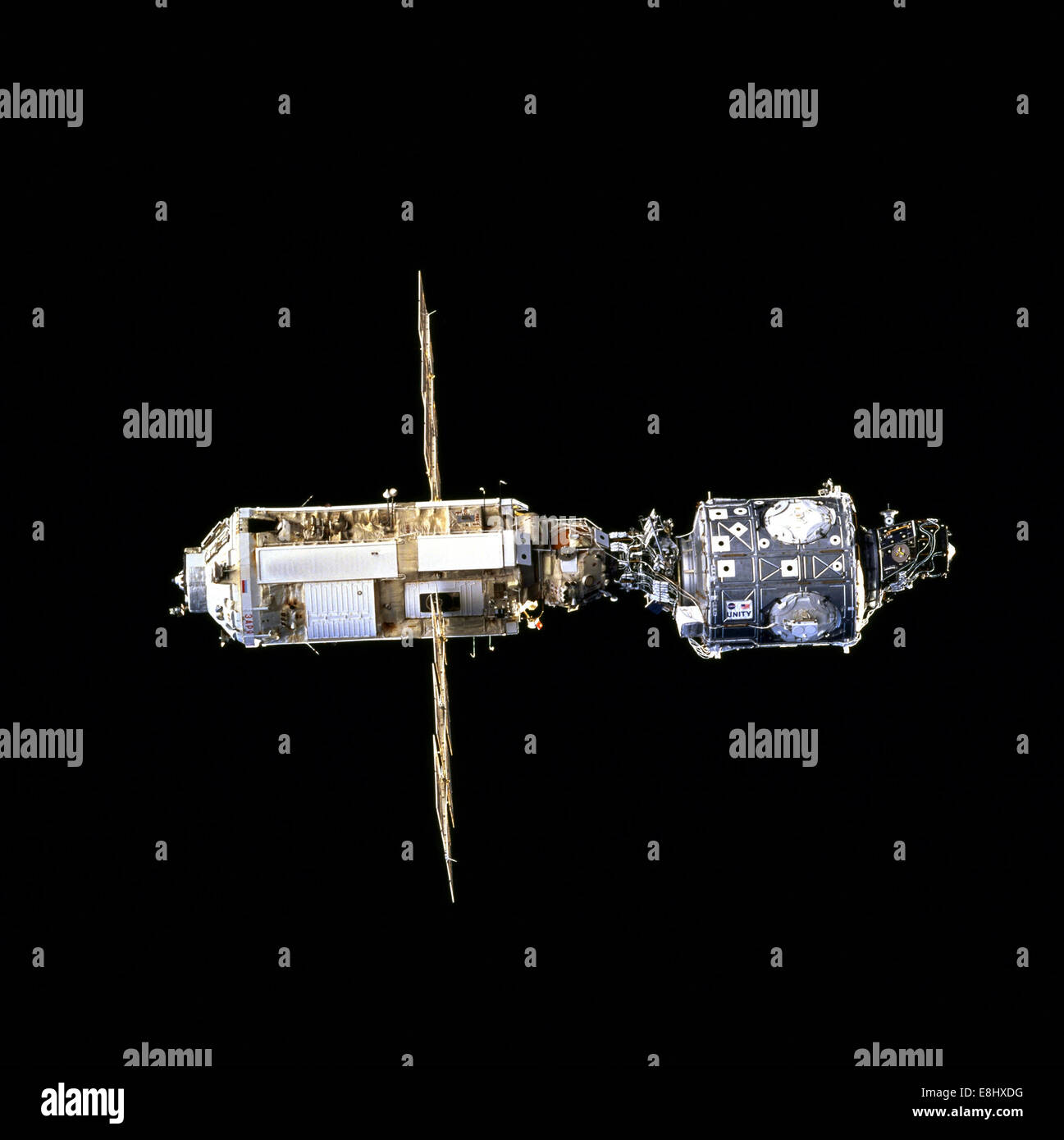 First Assembly Step (Archive NASA, International Space Station - Stock Image