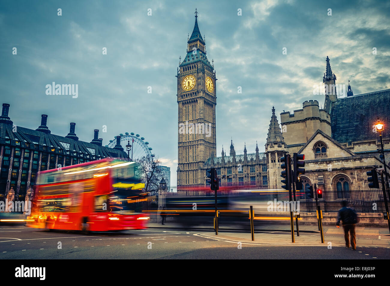 London at early morning - Stock Image