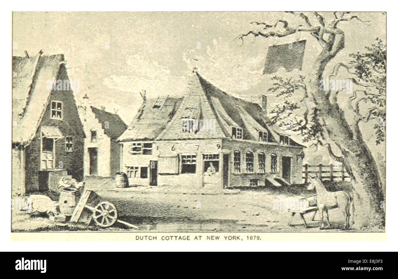 (King1893NYC) pg013 DUTCH COTTAGE AT NEW YORK, 1679