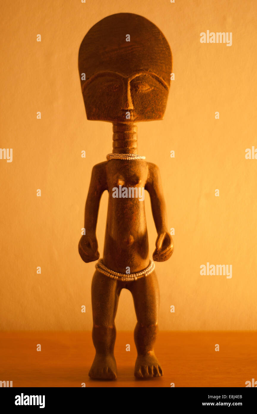 Ghanaian Fertility Doll - Stock Image