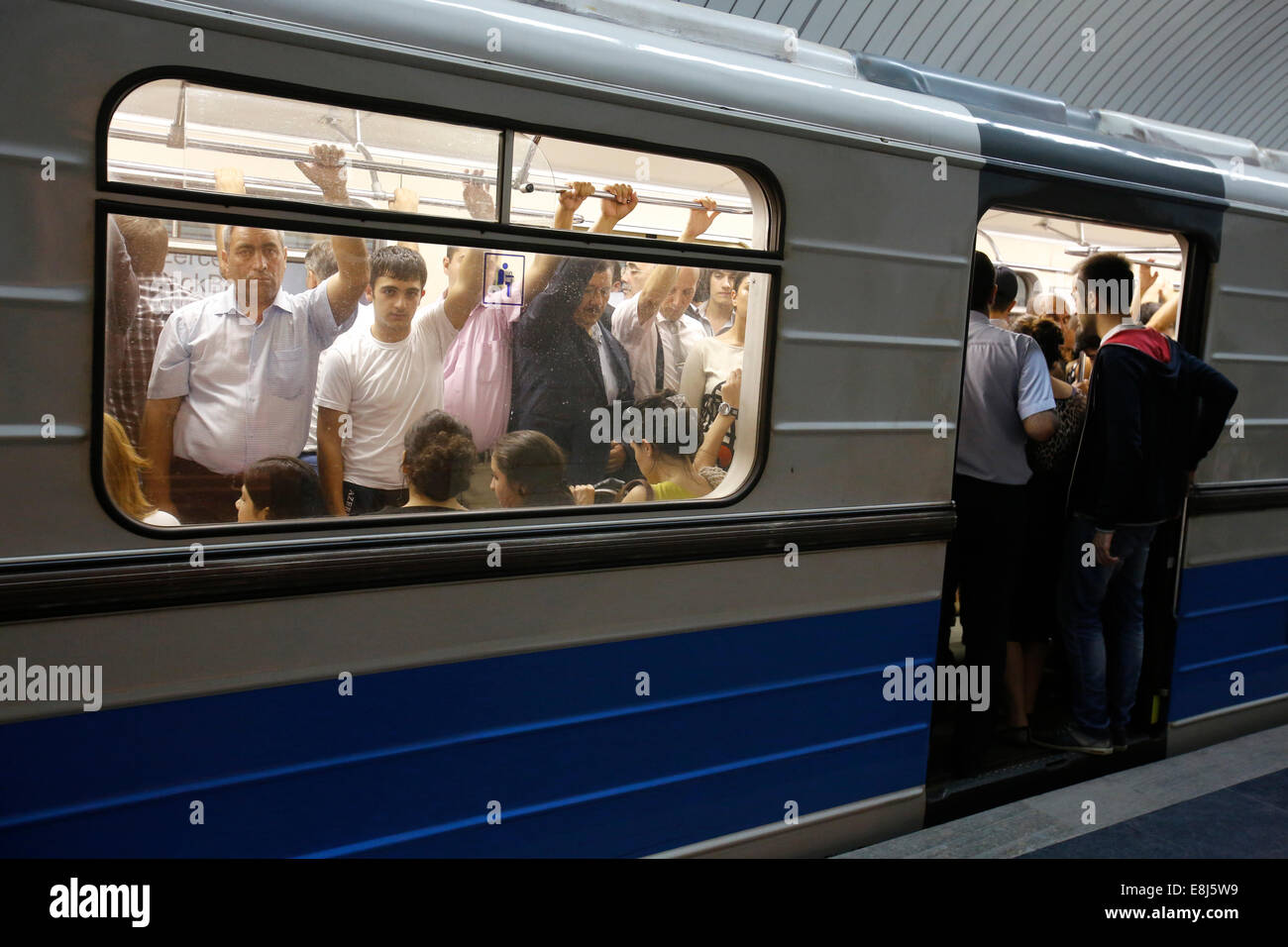 Baku subway - Stock Image