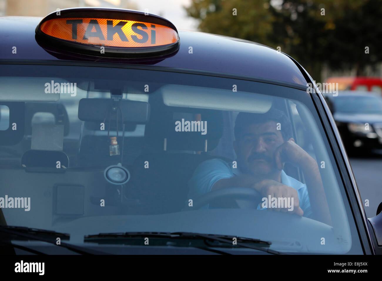 Baku taxi Stock Photo