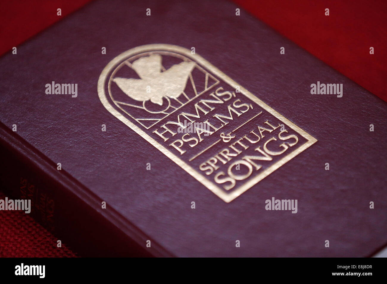 Hymns, psalms and spiritual songs. - Stock Image